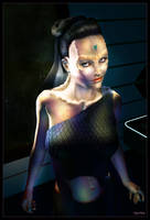 Cardassian Lady 03 by mylochka