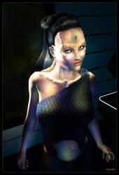 Cardassian Lady 03 by mylochka
