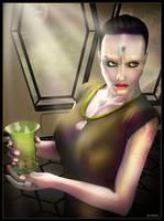 Cardassian Lady 05 by mylochka
