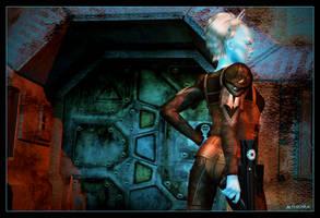 The Bounty Hunter 01 by mylochka