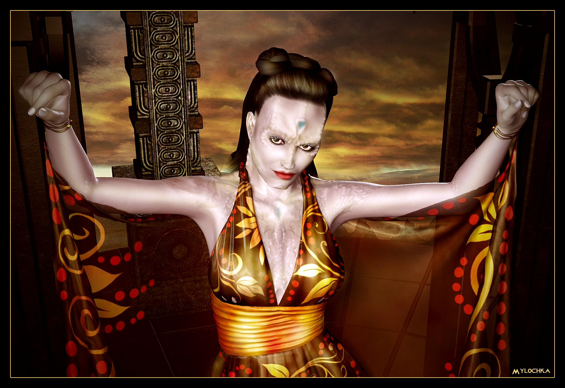Cardassian Lady 05 by mylochka