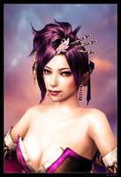 Portrait of Lady Noh 01 by mylochka