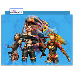 Final Fantasy X-2 Group Folder 01 by mylochka