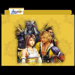 Final Fantasy X Group Folder 01 by mylochka