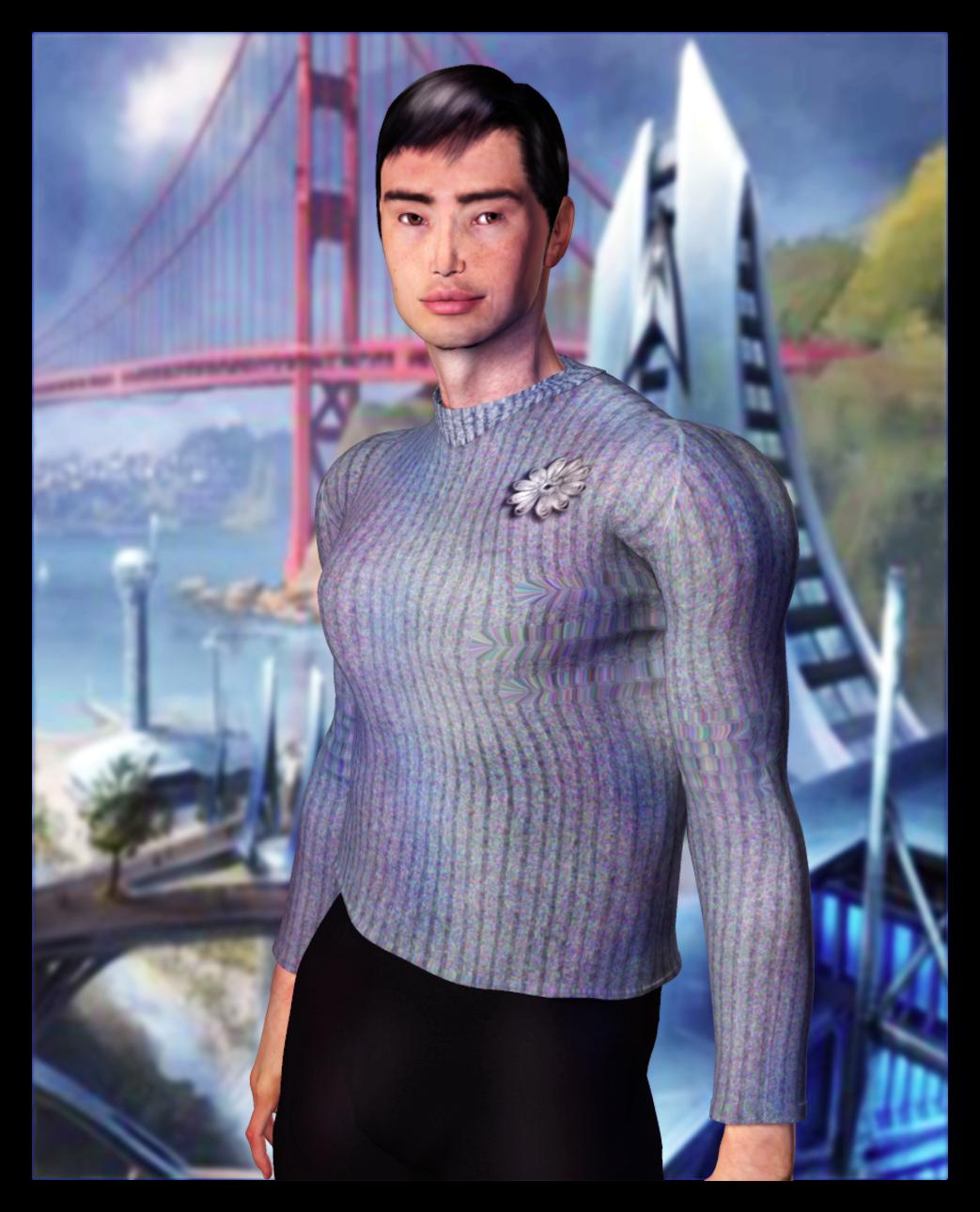 Cadet Sulu Portrait by mylochka