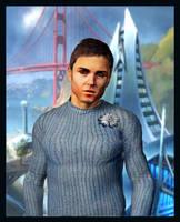 Cadet Chekov Portrait by mylochka