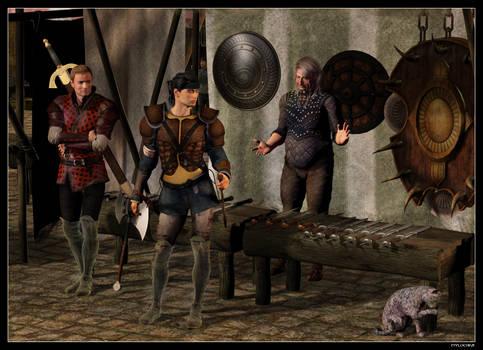 Mercenaries by mylochka