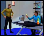 Kirk in Sickbay 01