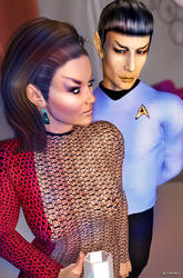 Romulan Commander 04 by mylochka