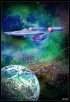 USS Enterprise VP test by mylochka