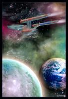 USS Enterprise by mylochka