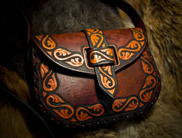 Sheridian Leather Purse by EastCoastLeather