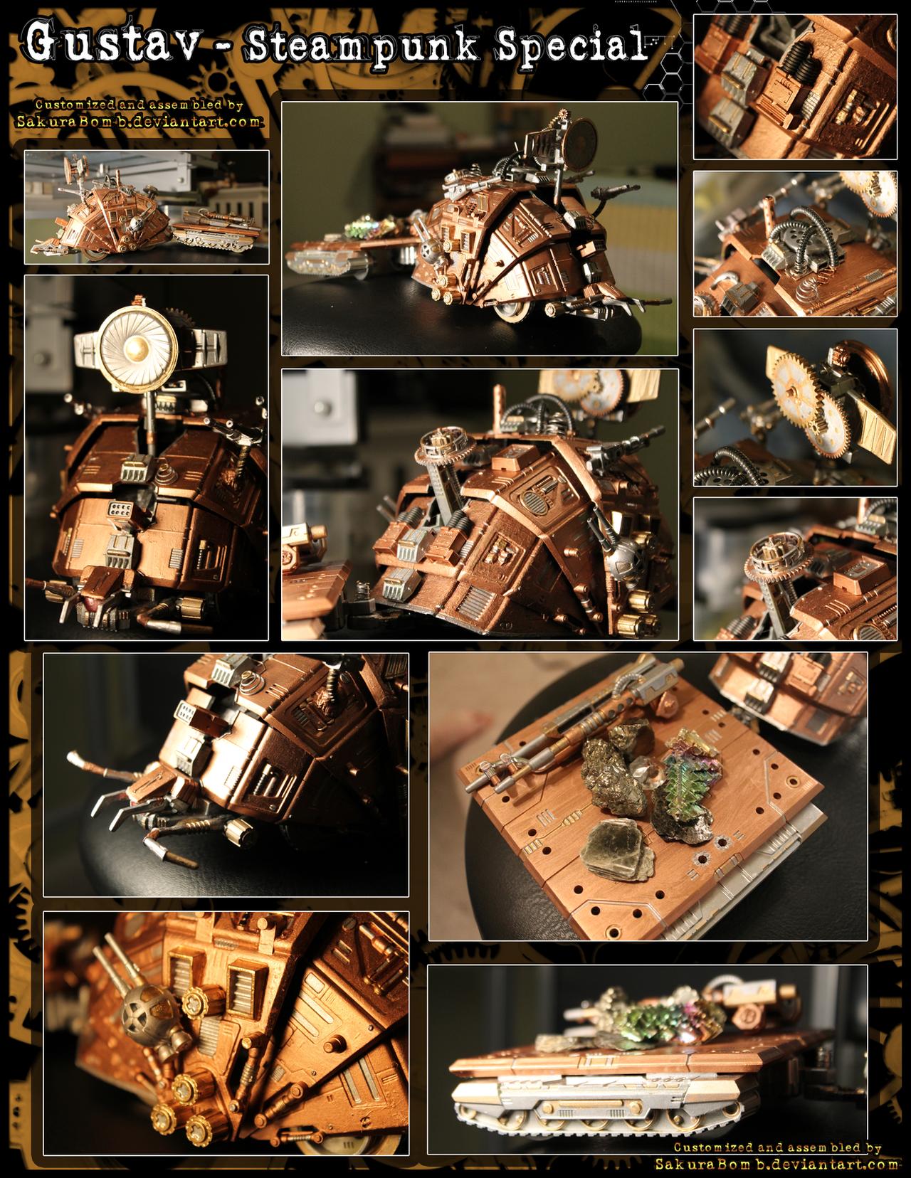 ZOIDS - Gustav Steampunk Special by SakuraBomb