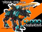 10K KIRIBAN - Shadow Fox
