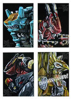 Zoids Card Set 2