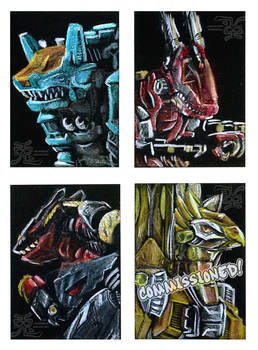 Zoids Card Set 2