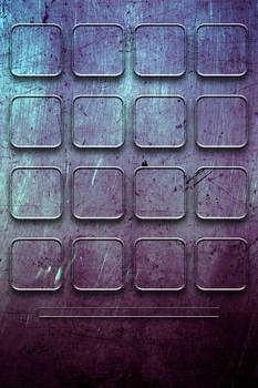 Grunge'd Purple Grid Iphone Wallpaper