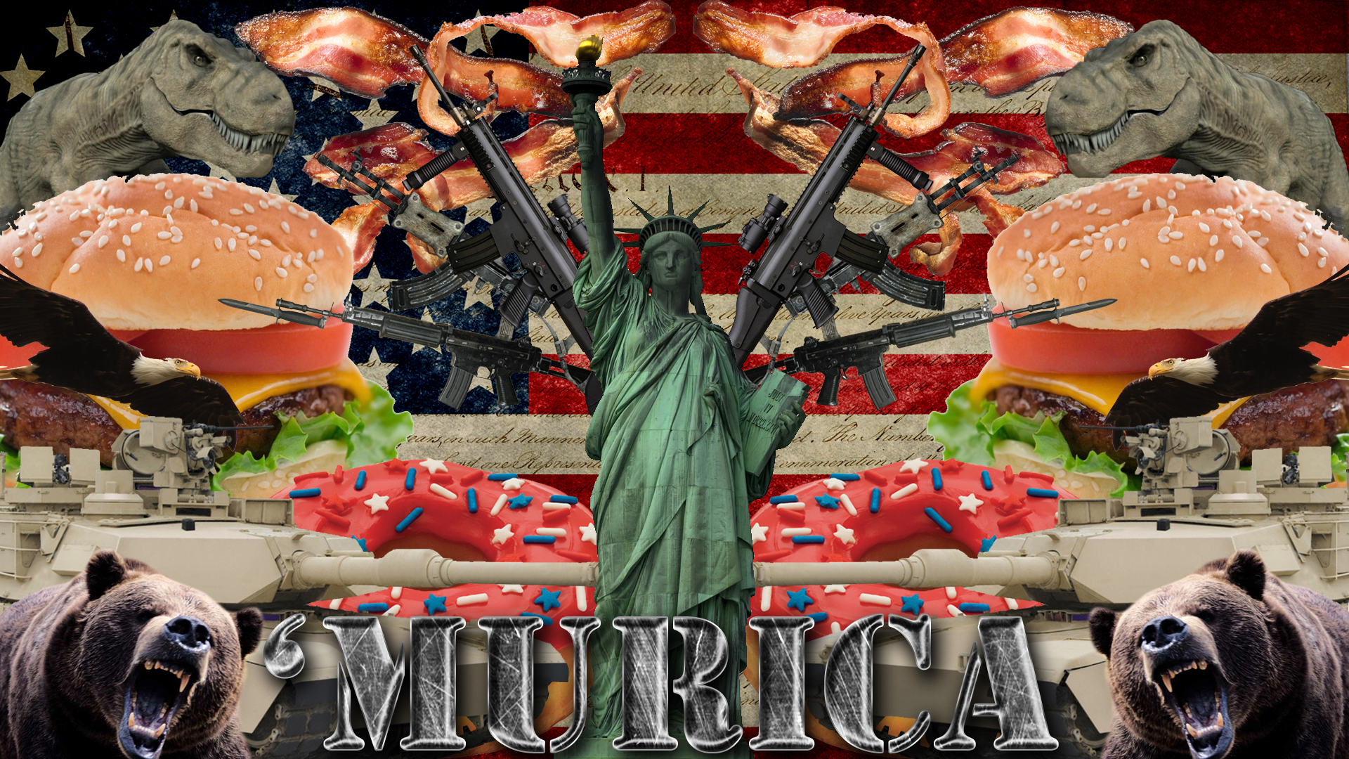 Murica By Mkgraphics On Deviantart