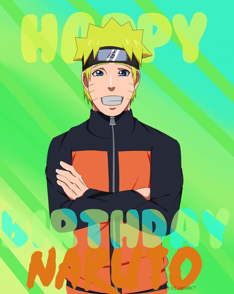 Happy Birthday Naruto by LizzieBCT
