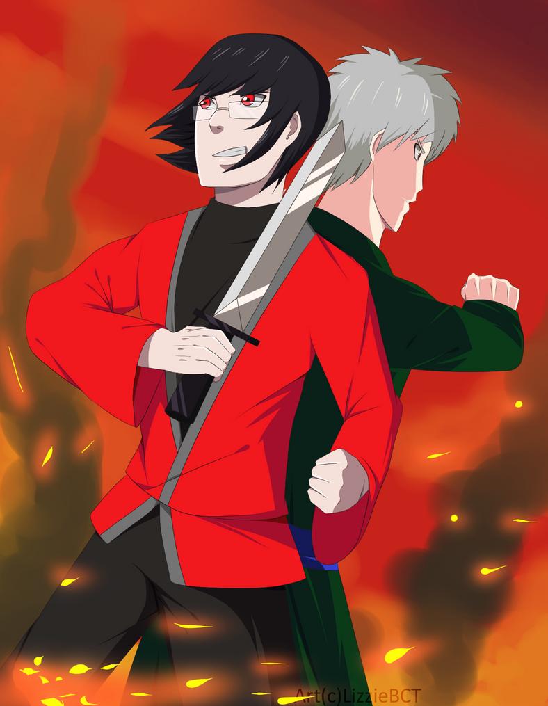 Renji and Kakiyama by LizzieBCT
