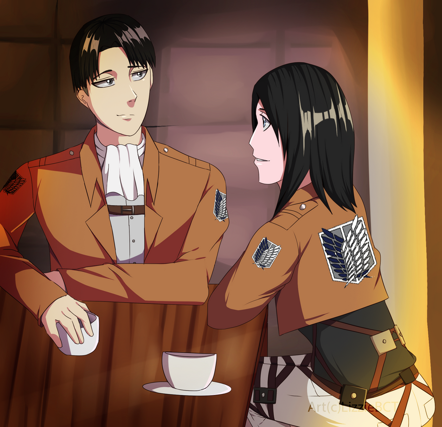 Having Tea by LizzieBCT
