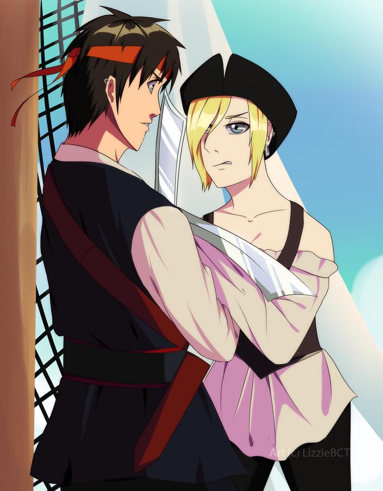 Pirates AU by LizzieBCT