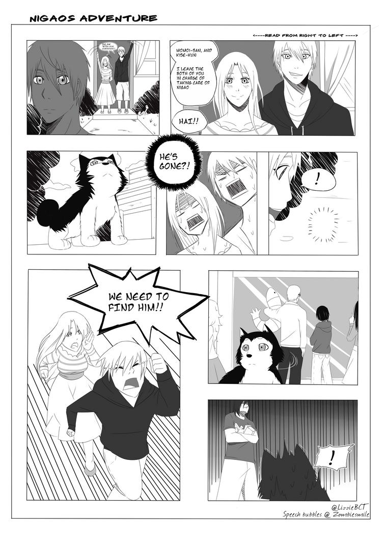 Nigao's Adventure P. 1 by LizzieBCT
