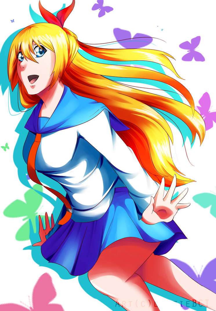 Chitoge by LizzieBCT