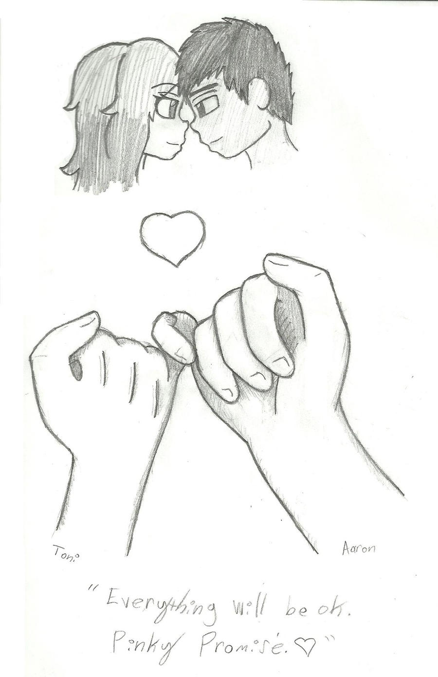 pinky promise by chimotoki on deviantart