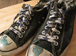 Worn Our Converse