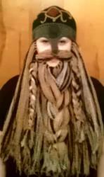 Com piece Calico beard by Drgibbs