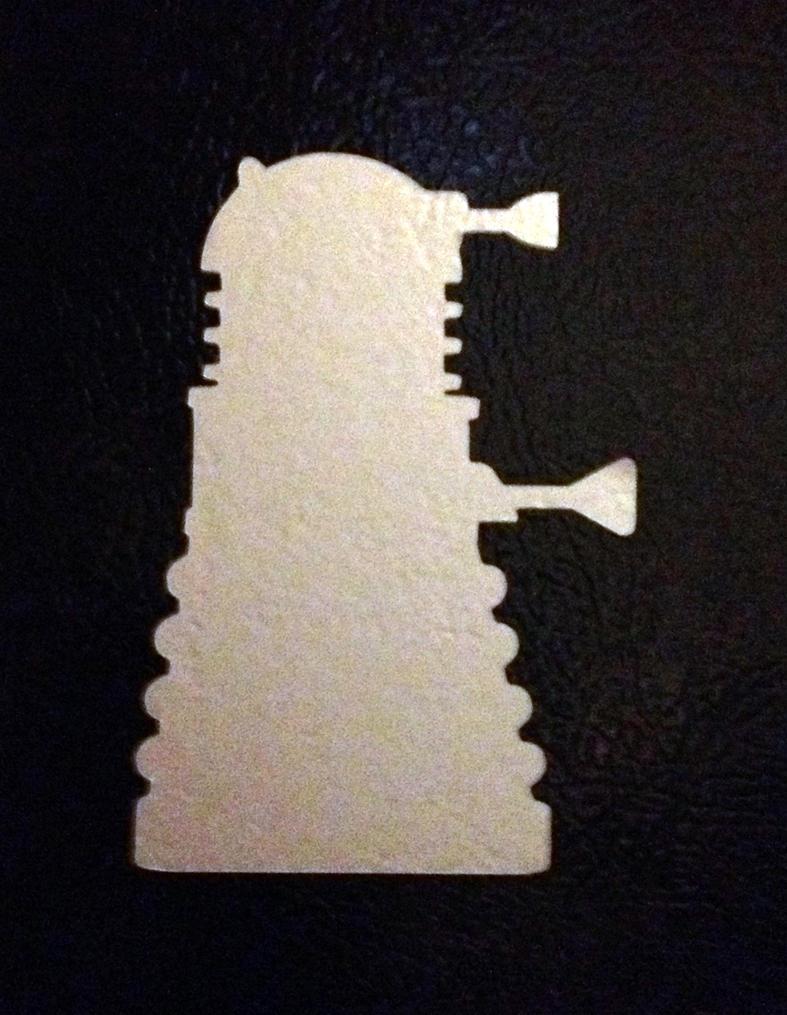 Dalek Vinyl Decal by Drgibbs