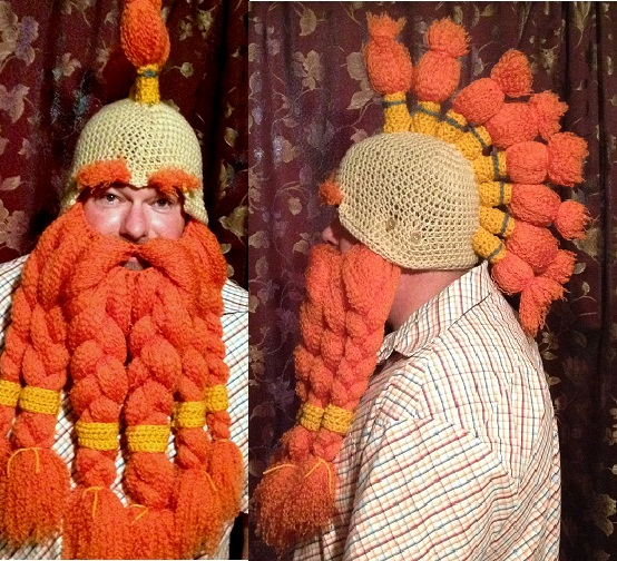 Crochet Dwarf Beard Hat Pattern Pakbit For