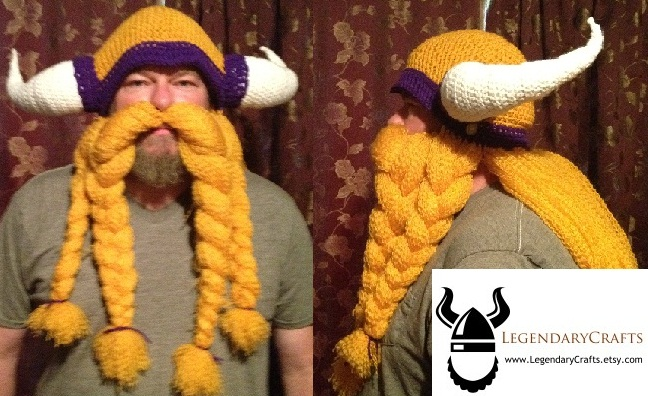 Minnesota Vikings Helmet with Mustache by Drgibbs on ...