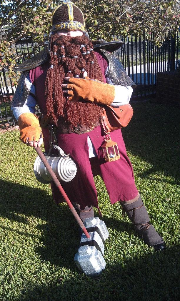 Gimli helm with Gloin beard by Drgibbs