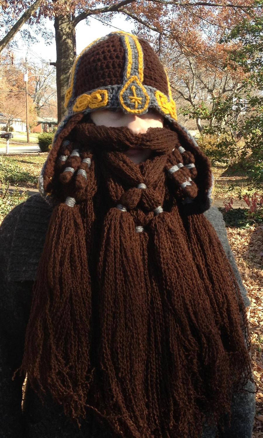 Gimli helm with Gloin beard again by Drgibbs