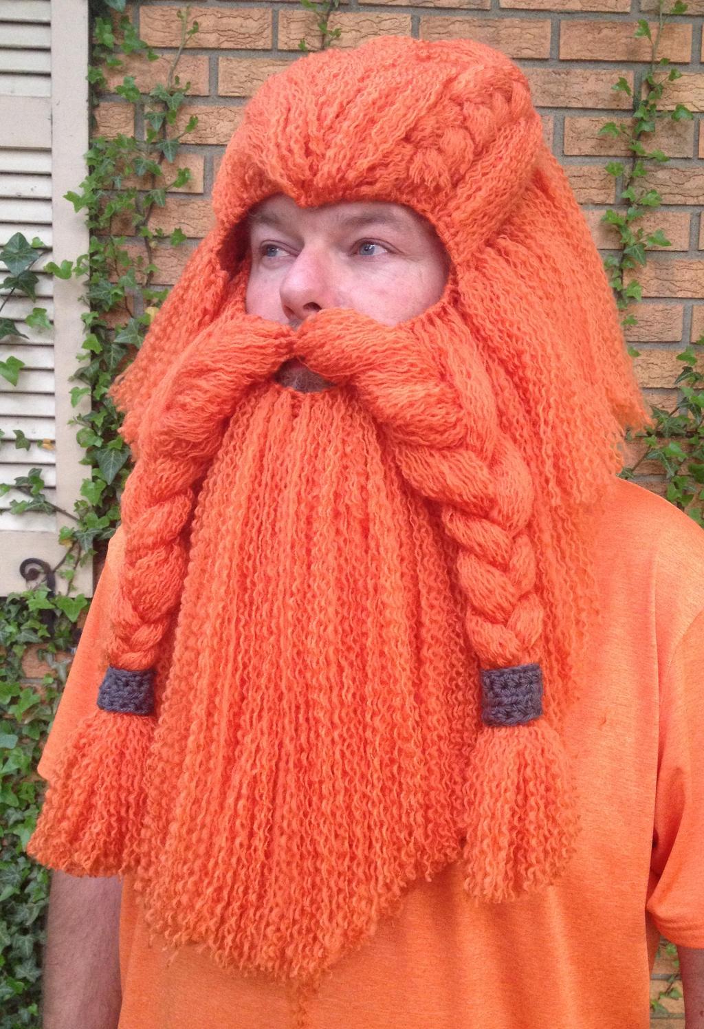 Crochet Dwarf Beard Hat Pattern : Full Dwarf hair and beard by Drgibbs on DeviantArt