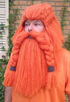 Full Dwarf hair and beard