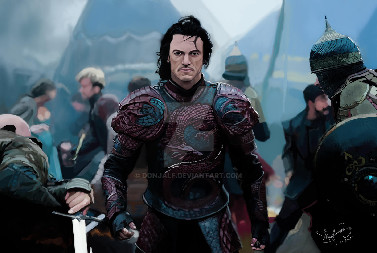 Dracula Untold Retina Movie Wallpaper: Dracula Untold Movie Fan Art By Donjalf On DeviantArt
