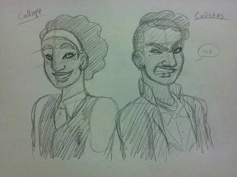 Humanstuck - Caliborn and Calliope