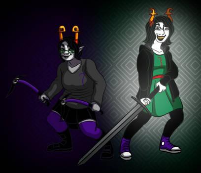 Trollsonas: Britni and Jessie
