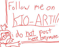 Follow me on kio-art. I do not post here anymore.