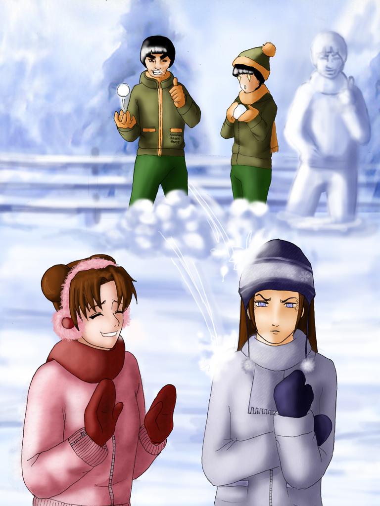 X-MAS: Team Gai by miyukiri