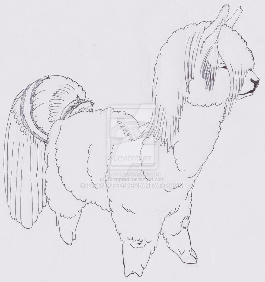 Pony llama or it is a Llama pony? by Dirrupted