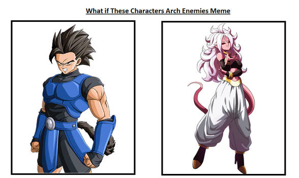 What if Shallot and Android 21 were Archenenemies?