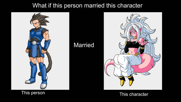 What if Shallot marries (Good) Android 21?