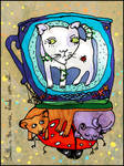 World upon cats by perpetual-sadness