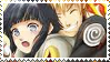 NarutoxHinata Stamp by kagomelover245