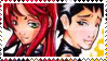 Starfire x Robin Stamp 8D by kagomelover245