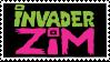 New Invader Zim Logo Stamp